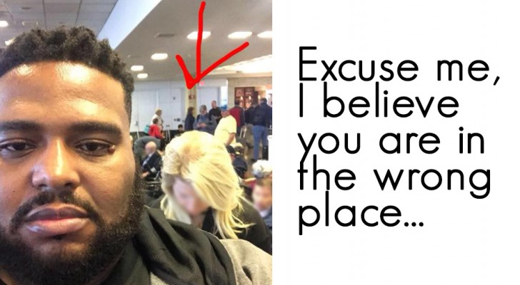 Non crede che viaggerà in 1a classe perché di colore: la risposta dell'uomo a questa donna è da applauso