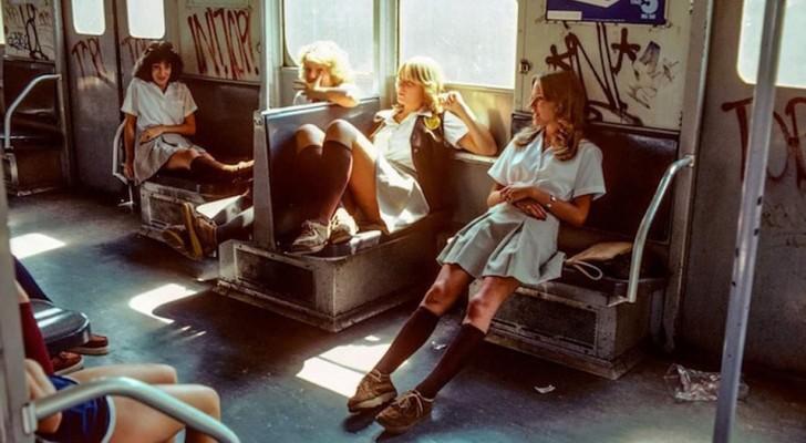 Diese alten Bilder zeigen, wie die New Yorker Metro in den 70er Jahren war
