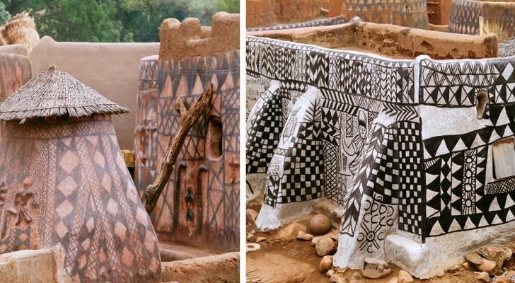 In questo semisconosciuto villaggio africano ogni casa è un'opera d'arte