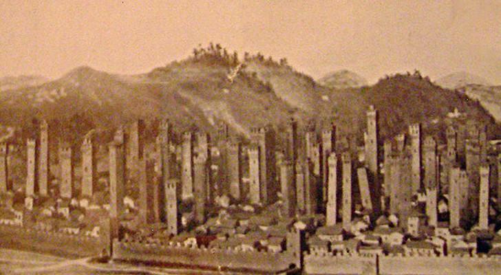 In de Middeleeuwen had Bologna zoveel torens dat New York er jaloers op zou zijn geweest: hier dienden ze voor