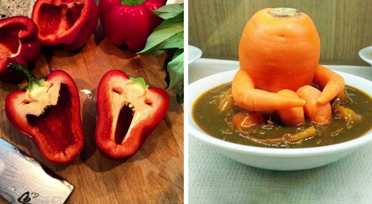 16 Fotos von verformten Lebensmitteln