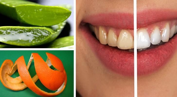 6 rimedi del tutto naturali per sbarazzarsi della placca dentale