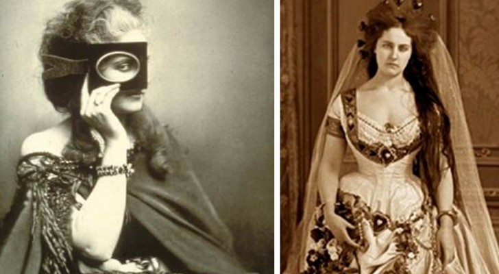 De mysterieuze gravin van Castiglione was bezeten van fotografie en liet meer dan 400 foto's van zich maken