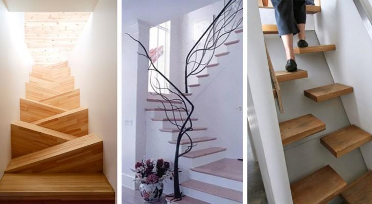 20 Bilder von so schönen und originellen Treppen, die ihr auch gerne zu Hause hättet