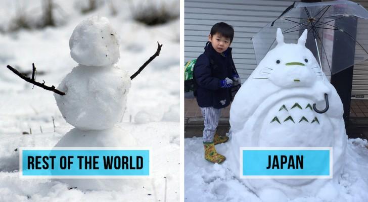 Une forte chute de neige frappe Tokyo: ce que les habitant de la ville font est incroyable!