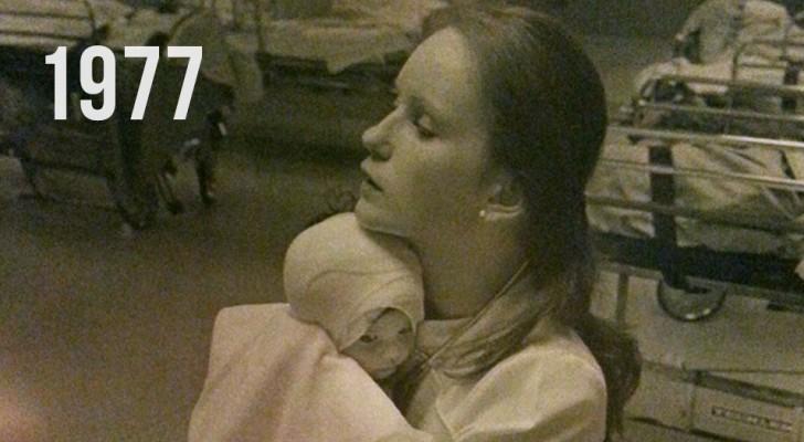 Nel 1977 curò una bimba ustionata: grazie ad una foto dopo 38 anni avviene l'impensabile...