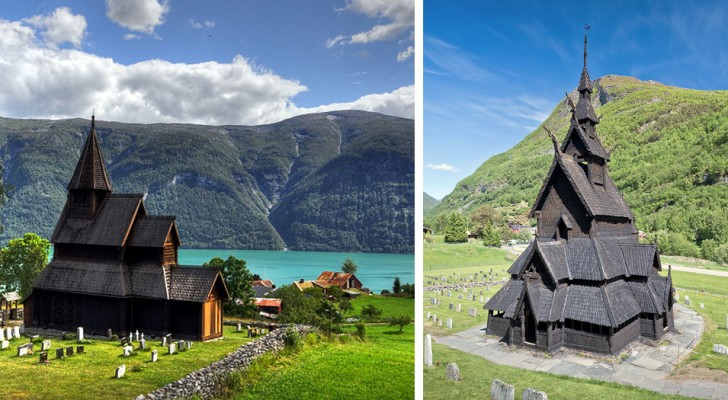 Die wunderschönen mittelalterlichen Holzkirchen, die in Norwegen überlebt haben
