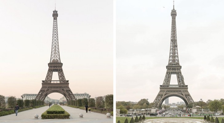 Die Fotos der chinesischen Stadt, die die exakte Kopie von Paris ist: Die Ähnlichkeit ist beeindruckend