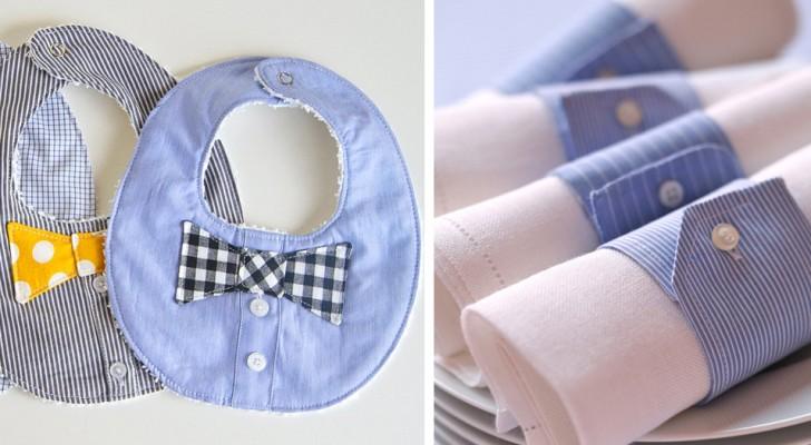 10 cose sorprendenti che puoi ricavare da una vecchia camicia da uomo
