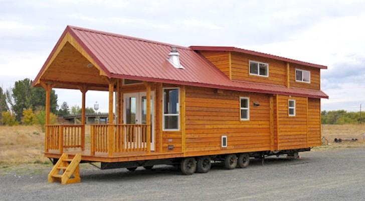 Ein 60qm Holzhaus: Ein Blick ins Innere reicht um sich zu verlieben