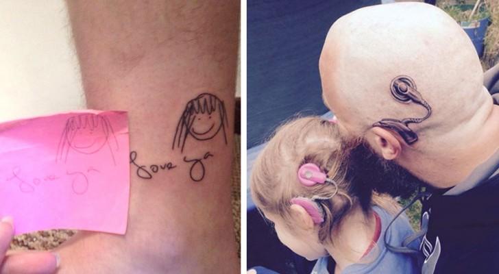 18 potenti tatuaggi che nascondono una storia commovente