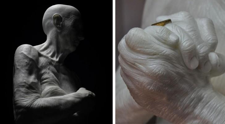 Questo scultore autodidatta realizza opere così dettagliate da sembrare vive