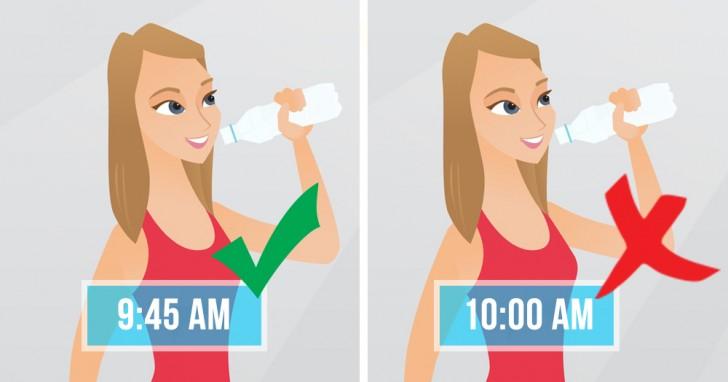 5 Situationen in denen wir nicht dazu raten, Wasser zu trinken