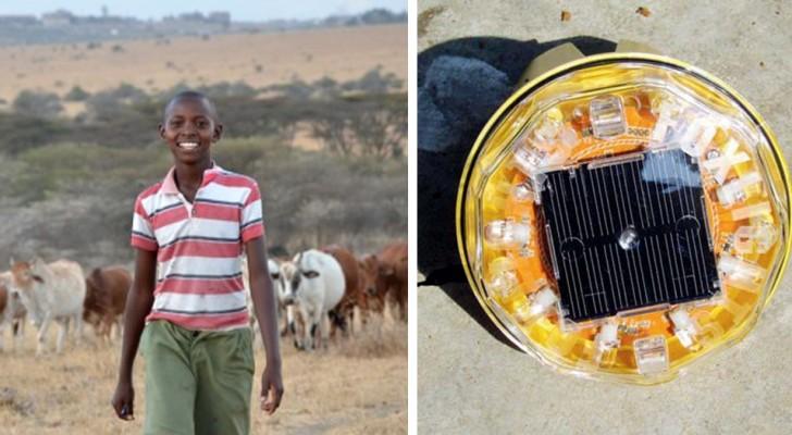 Door een simpele uitvinding heeft deze jongen de leeuwen, het vee en de economie van zijn dorp kunnen redden