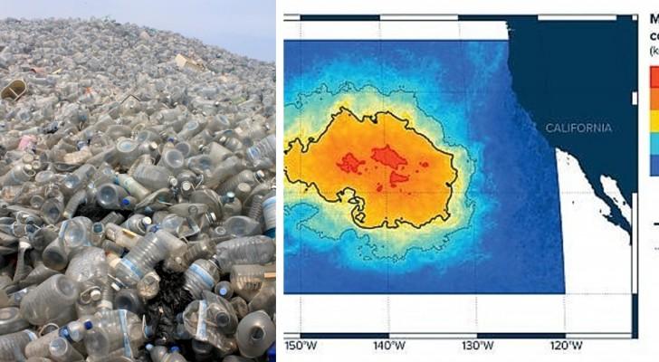 L'isola di plastica del Pacifico è molto più grande di come la immaginavamo: circa 3 volte la Francia!