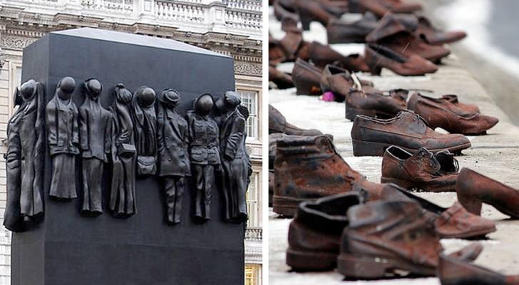 Hier einige wunderschöne Monumente, die die Seele tief berühren