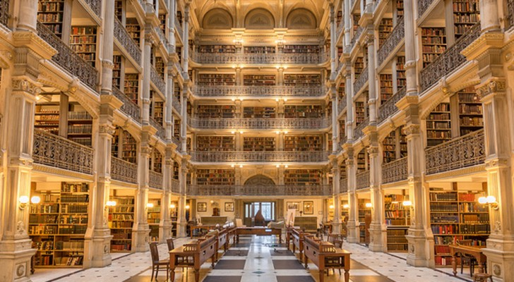 In deze bibliotheken zou iedereen zich wel een paar uurtjes per dag willen opsluiten