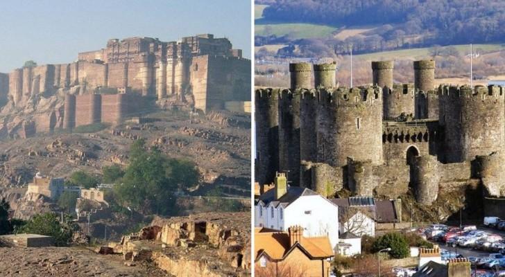 De 20 mooiste en meest bijzondere forten ter wereld