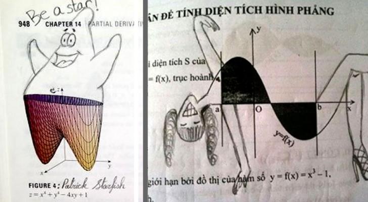 Deze tekeningetjes die werden gemaakt tijdens momenten van verveling zijn genialiteit  in zijn puurste vorm