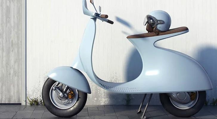 Een Italiaanse ontwerper vindt de Vespa  opnieuw uit en maakt hem elektrisch, maar er is nog een aanpassing die niet iedereen bevalt
