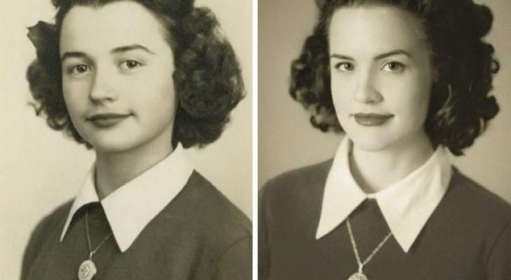 24 nipoti che hanno ricreato gli scatti dei nonni da giovani con risultati incredibili