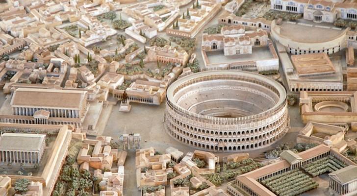 Een architect doet er 38 jaar over om een maquette van het oude Rome te maken. Als je ernaar kijkt is het alsof je een sprong in de tijd maakt