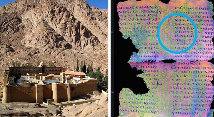 Ritrovate nel Monastero di S. Caterina pergamene cancellate e riscritte di cui non si conosce la lingua