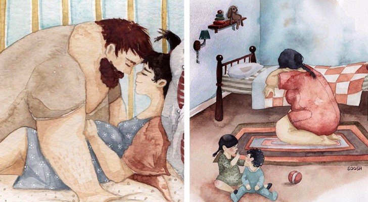 Tutta la bellezza della vita in famiglia: in queste illustrazioni troverete un pezzetto di voi stessi