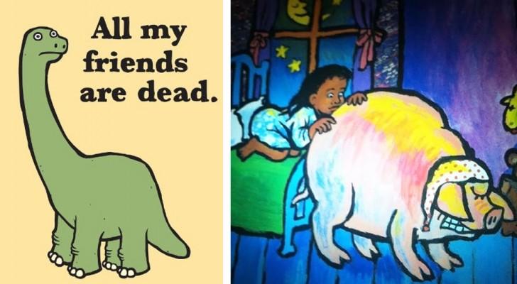14 images trouvées dans des livres pour enfants.... qui nous ont laissé un brin perplexes