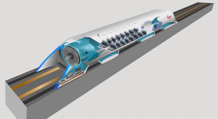 Il prototipo del treno che viaggia alla velocità del suono verrà costruito in Europa entro quest'anno