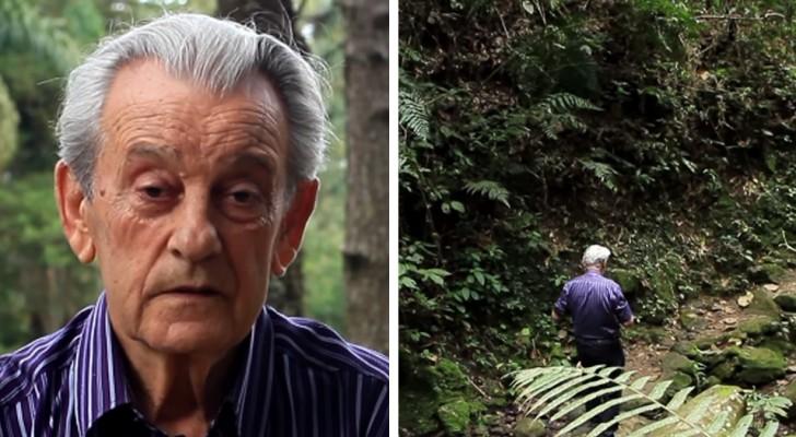 Maak kennis met de man die eigenhandig 50.000 bomen heeft geplant en nu in zijn eigen jungle woont
