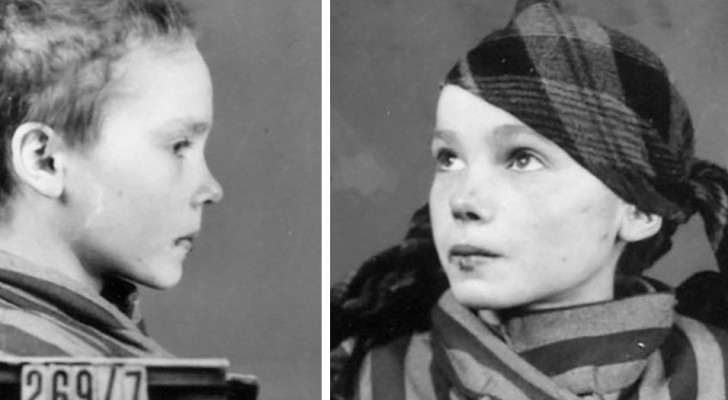 Una fotografa colora le ultime foto di una giovane prigioniera di Auschwitz: il risultato è straziante