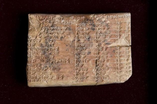 Un mathématicien révèle le secret gardé par la plus ancienne tablette trigonométrique du monde