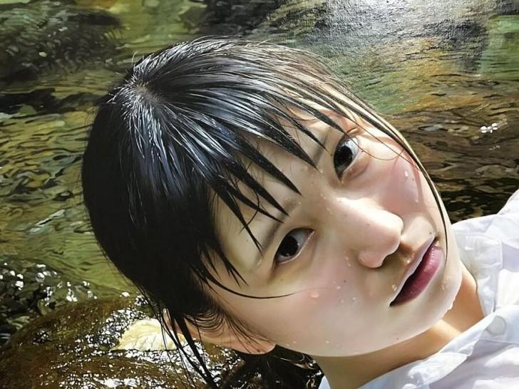 Les gens n'arrivent pas croire que cette image est une peinture : voici les œuvres hyperréalistes de Kei Mieno