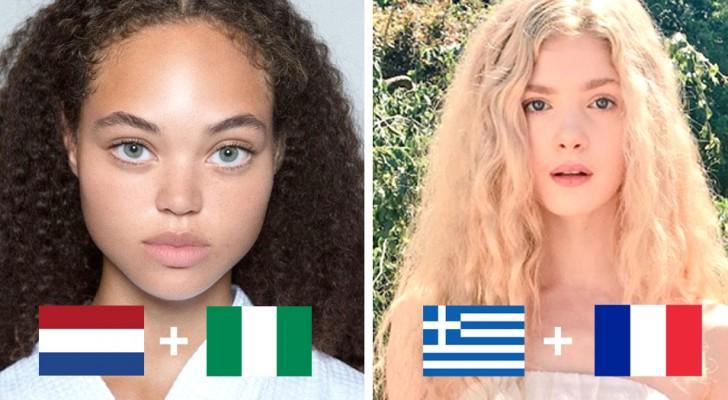 15 Gesichter die dir zeigen wie faszinierend die Verbindung aus verschiedenen Ethnien aussehen kann