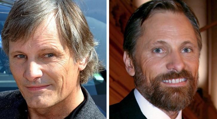 14 photos d'hommes célèbres montrant que la barbe peut vraiment faire la différence