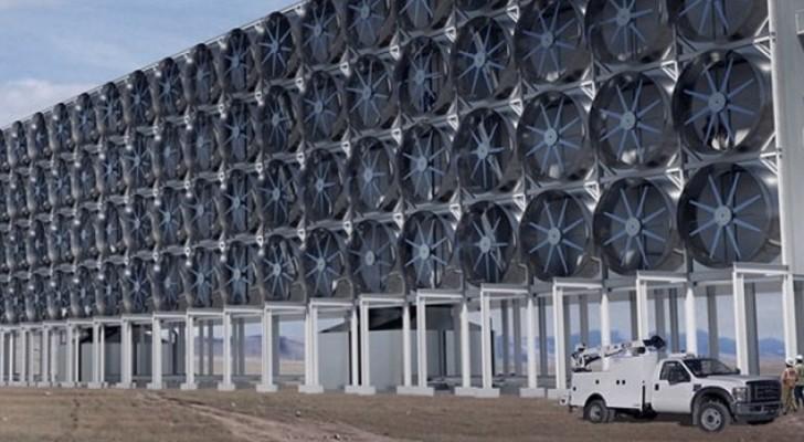 Estrarre anidride carbonica dall'aria non è un'utopia: ecco la macchina che affiancherà le foreste