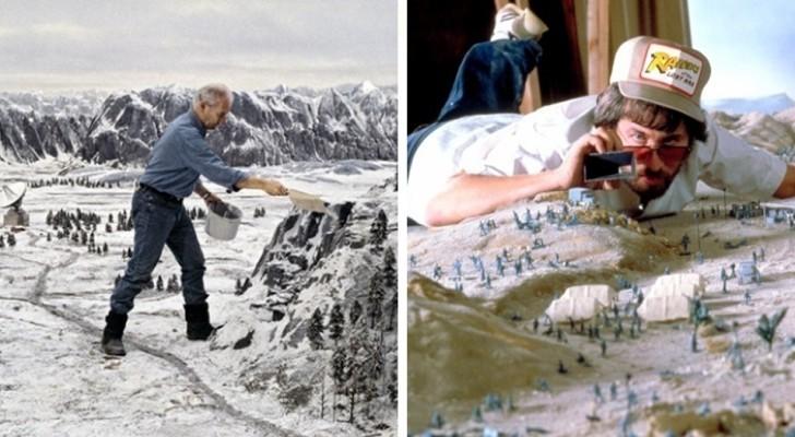 20+ memorabili scene di film che in realtà non sono altro che dei modellini... eccezionali