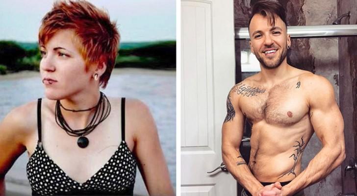 8 foto prima dopo di uomini bellissimi, che un tempo erano delle donne