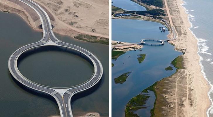 Ce pont en Uruguay est différent de tous les autres : il est circulaire et a une fonction très spécifique