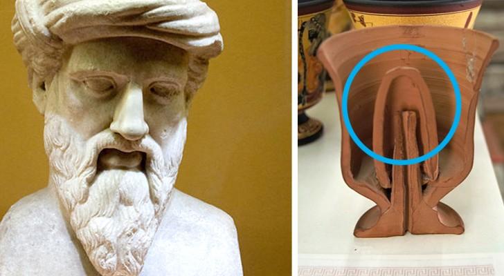 Il bicchiere pitagorico: il calice che smascherava gli ubriaconi, inventato da Pitagora. Ecco come funziona