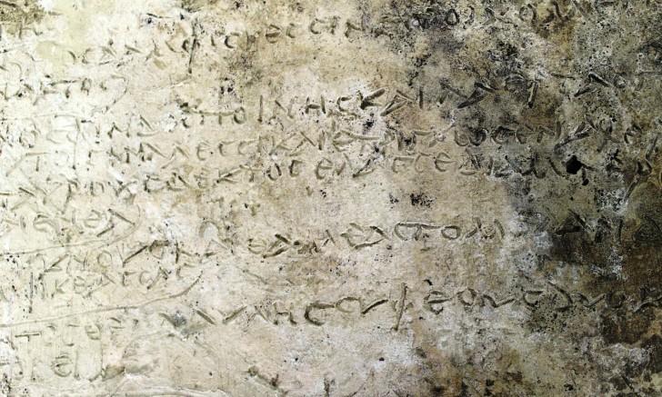 Trovata in Grecia una tavoletta di argilla con i versi dell'Odissea: probabilmente è la più antica mai rinvenuta