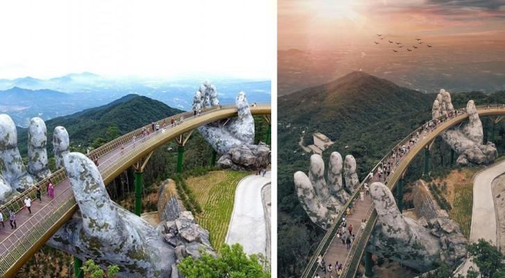 Deze brug in Vietnam is pas net geopend en hij is nu al een van de plekken die je moet hebben gezien in je leven