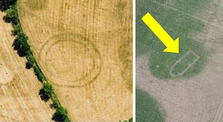 Door de warmtegolf in Groot-Brittannië komen er op akkers ongelofelijke archeologische