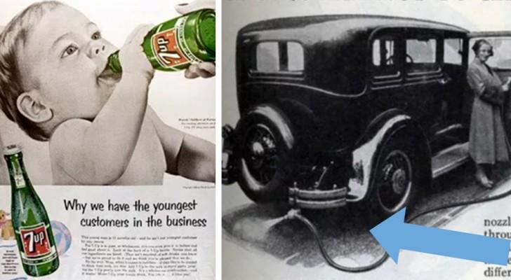 11 pubblicità d'epoca sulla salute... che di salutare non avevano proprio niente!