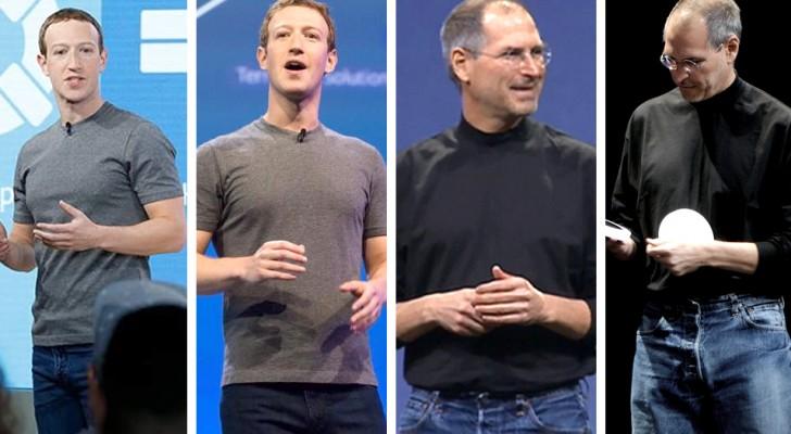 Waarom dragen miljonairs elke dag hetzelfde?