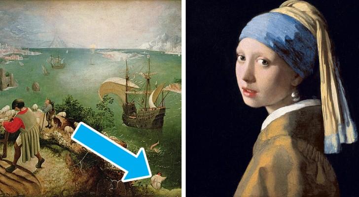 6 unerwartete Details, die sich hinter einigen berühmten Gemälden verstecken