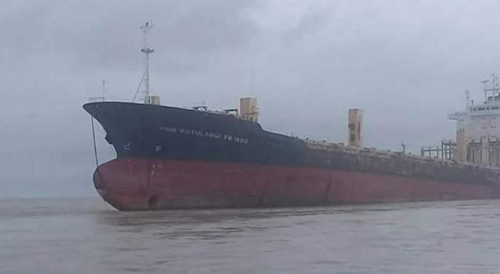 Un gigantesque navire