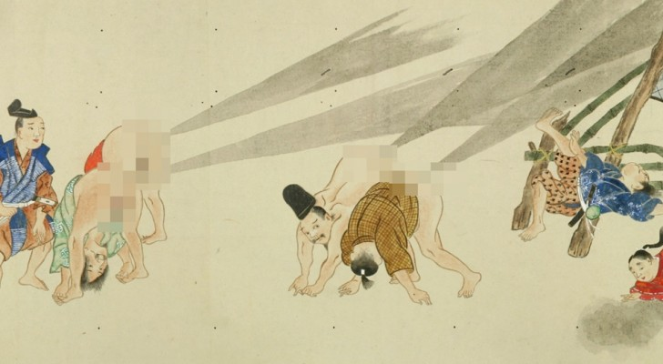 Un'antica pergamena giapponese rivela la battaglia più folle della Storia... Ed è proprio quello che pensate