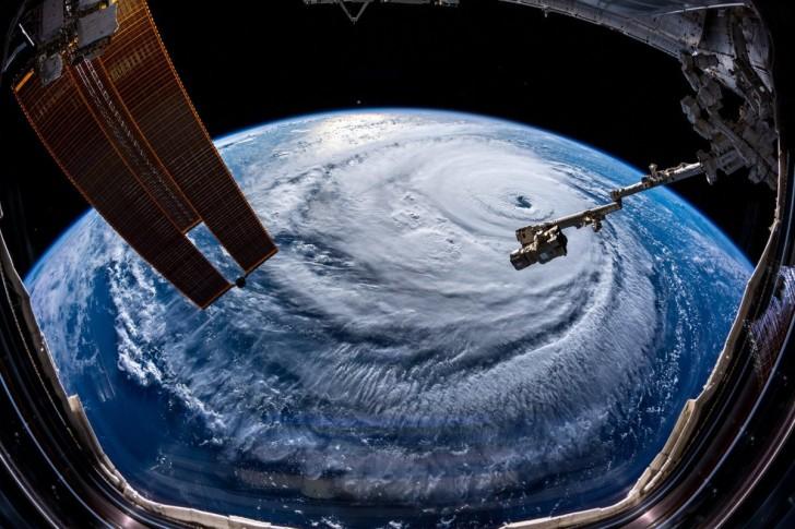 Astronauten fotografieren Hurricane Florence, und das ist gruseliger, als man gedacht hätte